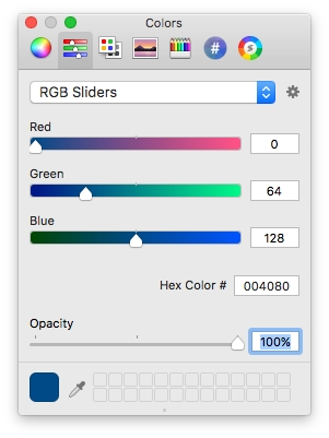 Colour Picker Tool